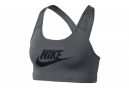Brassière Nike Pro Swoosh Grey Black
