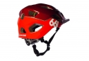 661 SixSixOne Evo Am Helmet Red 2018