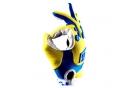 Paire de Gants 100% AIRMATIC Jaune/Bleu