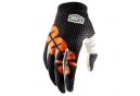Paire de Gants 100% iTrack Noir/Orange