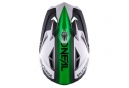Casco Integral O'Neal Warp Fidlock Blocker Blanc / Vert / Fluo