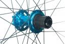 Paire de Roues Spank 27.5'' SPIKE Race 28 | Axe 20x110mm - 12x150mm | Corps Shimano/Sram Bleu