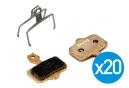 Brake Authority Brake Pads AVID Elixir / Level T / Level TL (pack of 20)