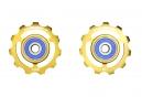 CyclingCeramic Jockey Wheels Shimano 10 / 11s (Edición Limitada Oro)
