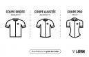 Maillot Pluie Manches Longues Femme LeBRAM Pailhères Coupe Pro Noir Blanc