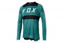 Fox Flexair Long Sleeves Jersey Verde Negro