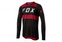 Maillot Manches Longues Fox FlexAir Rouge Noir