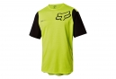 Fox Attack Pro Short Sleeves Jersey Yellow Black