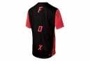 Fox Indicator Asym Short Sleeves Jersey Red Black