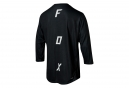 Fox Indicator Asym 3/4 Sleeves Jersey Black