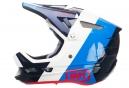 Casco Integral 100% Aircraft Bi-Turbo Blanc / Bleu