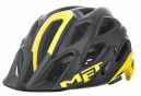 MET LUPO MTB Helmet Black Yellow