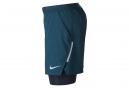 Short 2-en-1 Nike Distance Bleu
