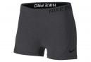 Short de Sport Femme Nike Pro Gris