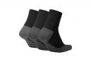 Paires de Chaussettes Nike Everyday Max Cushion Ankle (3 Paires) Noir