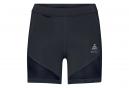 Pantalones cortos mujer Odlo Zeroweight negro
