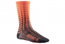 Paire de Chaussettes Mavic 2018 Ksyrium Merino Graphic Orange Noir