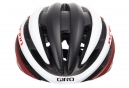 Casque Route Giro Cinder Mips Noir Blanc Rouge