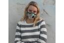 Masque Anti-pollution Vogmask N99CV Hummingbirds Bleu Turquoise Multi-couleur