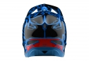 Casque Troy Lee Designs D3 Fiberlite Factory Bleu