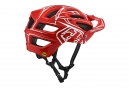 Casque Troy Lee Designs A2 Pinstripe 2 Mips Rouge 2018
