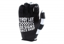 Gants Longs Troy Lee Designs Air Checker Noir Blanc
