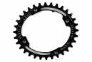 Hope Retainer Oval Narrow Wide Chainring Black