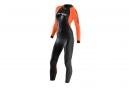 Combinaison Femme ORCA Openwater Noir Orange