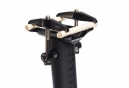WOODMAN Seatpost CARBO GT2 Carbon 450mm