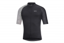 Gore Apparel Cycling C5 Optiline Jersey negro blanco