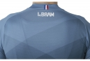 Maillot Manches Courtes LeBram Puy de Dome Bleu Coupe Ajustée