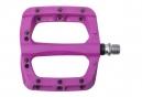 HT Pedales plates Nylon PA03A Dark Purple