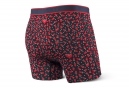 Boxer Saxx Vibe Modern Fit Rouge