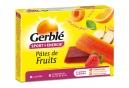 Pâtes de Fruits Gerblé Sport Pomme Fraise Orange Abricot (Boite de 6)