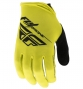 Paire de Gants longs FLY Racing Media Jaune/Noir