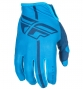 Paire de Gants longs Enfant FLY Racing Lite Bleu