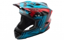 Casco Integral Fly Racing Default Bleu / Rouge