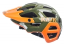 Casque VTT Kask Rex Kaki Orange