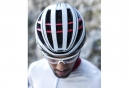 Casque Abus Aventor Blanc Rouge