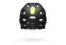 Casque avec Mentonnière Amovible Bell Super DH Mips Noir Mat Vert Fluo