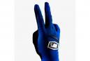Paire de Gants Longs Femme 100% Ridecamp Bleu