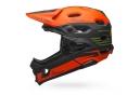 Casque avec Mentonnière Amovible Bell Super DH Mips Fasthouse Kaki Orange