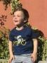 T-shirt MARCEL PIGNON Enfant Hérisson Bleu