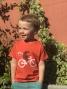 T-shirt MARCEL PIGNON Enfant Herisson Orange