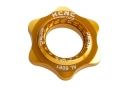 Adaptateur Centerlock KCNC AL6061 Or