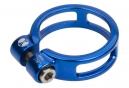 Collier de selle Box Helix 25.4mm Bleu