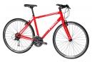 Vélo de Ville Trek FX 3 Shimano Alivio 9V Rouge / Blanc 2018