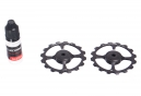 Galets Surdimensionnés CyclingCeramic 16 dents Dura-Ace/Ultegra 10/11v Noir
