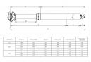 Tige de Selle Télescopique KIND SHOCK E10 Remote Débattement 75mm 2018