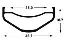 Roue Avant Notubes Baron S1 27.5´´ Plus | Boost 15x110mm